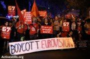 Manifestación en Tel Aviv