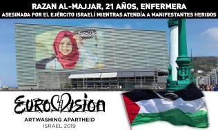Afiches de BDS País Vasco.