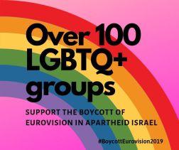 Más de 100 grupos LGBTQ+ boicotean Eurovisión en Israel