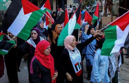 Protesta en el Líbano.
