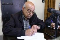 Issa Al-Sayid, miembro del consejo de administración del comité popular.