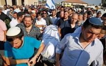 Funeral de Rina Shnerb en la ciudad de Lod. (Jack Guez, AFP).