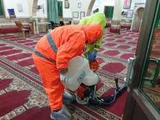 Esterilización de la mezquita