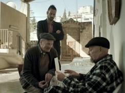 Mohammed y Saleh Bakri en el film Wajib de Annemarie Jacir.