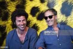 Saleh y Mohammed Bakri en el festival de Locarno 2017.