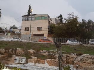 Hogar de la familia Sabbagh en Sheikh Jarrah (MEE/Aseel Jundi).
