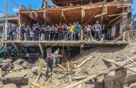 Al-Shati tras el bombardeo del 17/5.