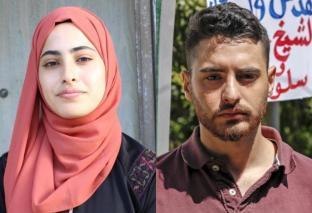 Muna y Mohammed El-Kurd (23), líderes y voceros de Sheikh Jarrah.