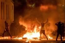 Cientos de palestinos/as protestaron en Yaffa en solidaridad con Gaza y Jerusalén. 15/5/21 (Oren Ziv/Activestills.org)