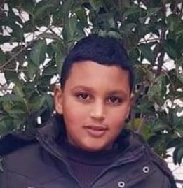 Mohammed Moayyad Abu Sara (11), asesinado por soldados israelíes en Beit Ummar el 28/7/21.