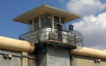 Una torre de vigilancia en la prisión de Gilboa (AFP).